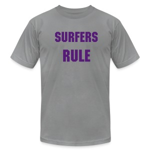 surfers rule - Men's Fine Jersey T-Shirt