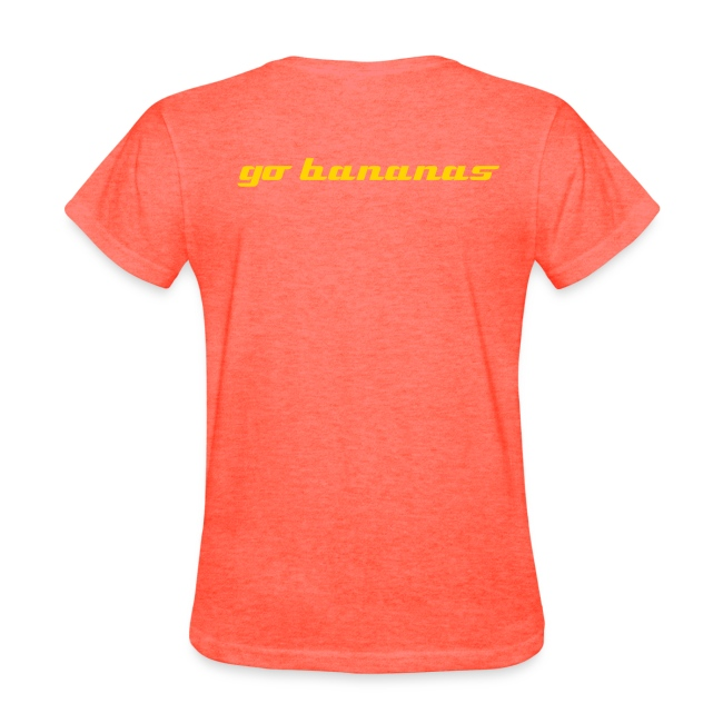 Go bananas women's basic T