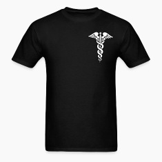 Black Caduceus T-Shirts