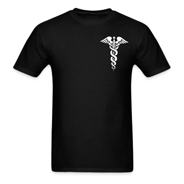 Black Caduceus T-Shirts