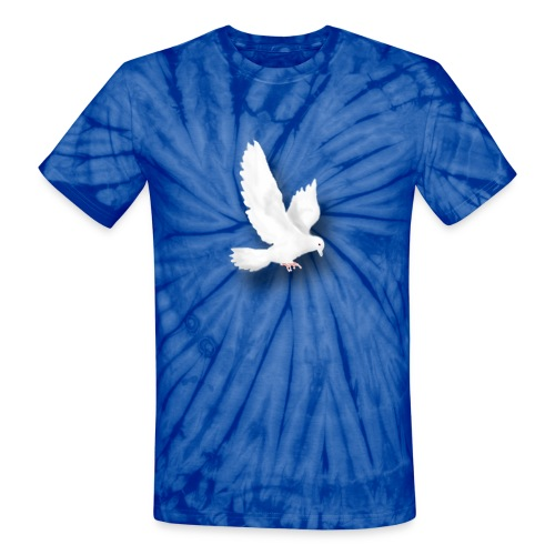 Dove - Unisex Tie Dye T-Shirt