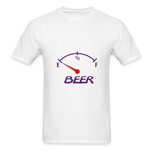 beer gauge - Men's T-Shirt