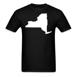 New York state map - Men's T-Shirt