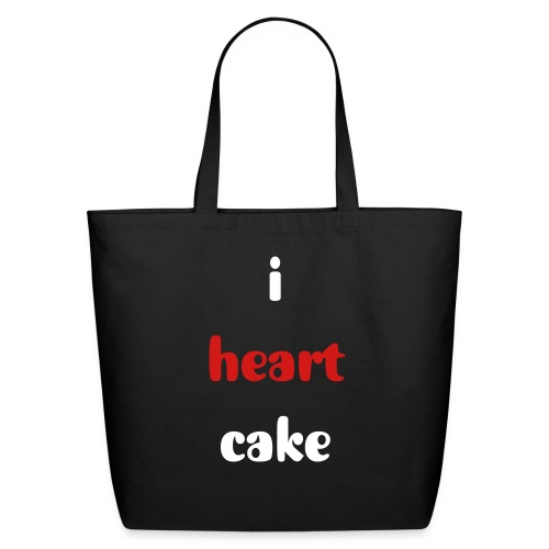 do you heart cake? - Eco-Friendly Cotton Tote