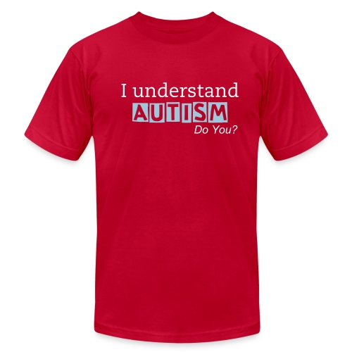 I understand AUTISM/Did you know... - Men - Men's  Jersey T-Shirt