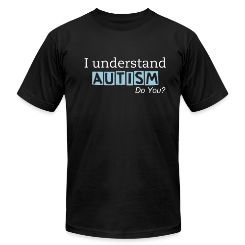 I understand AUTISM/Did you know... - Men - Men's Fine Jersey T-Shirt