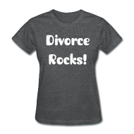 T-Shirts ~ Women's T-Shirt ~ Divorce Rocks Tee