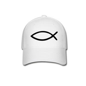 Baseball Cap Jesus' Fish - Baseball Cap