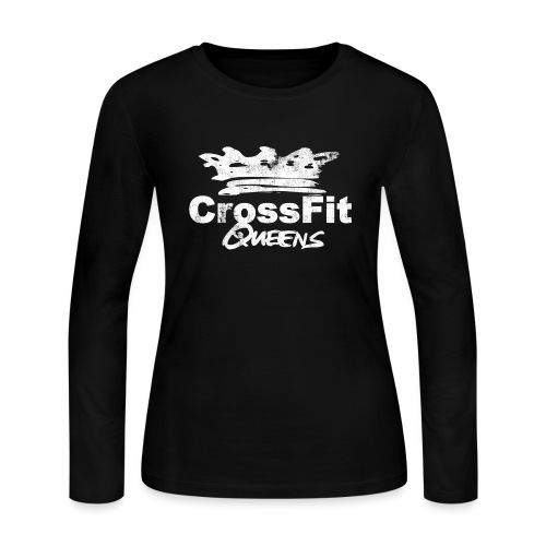 Women's Long Sleeve crew neck  - Women's Long Sleeve Jersey T-Shirt