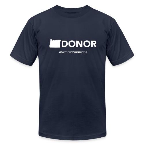 Oregon Donor - Men's Fine Jersey T-Shirt