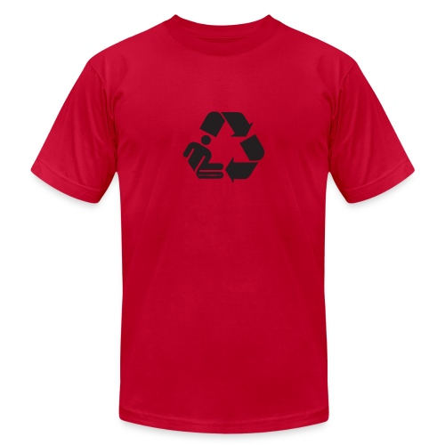 Recycle Person - Men's Fine Jersey T-Shirt