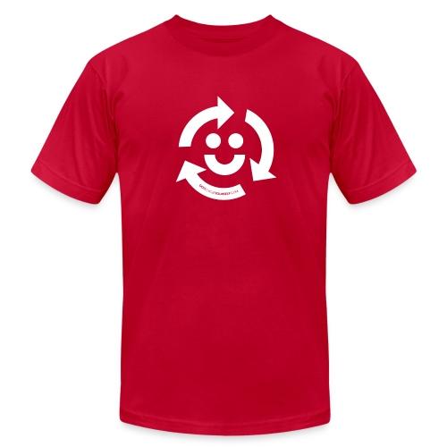 Recycle Happy - Men's Fine Jersey T-Shirt