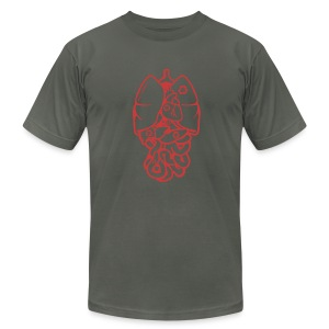 Recyclable Body Parts - Men's T-Shirt by American Apparel