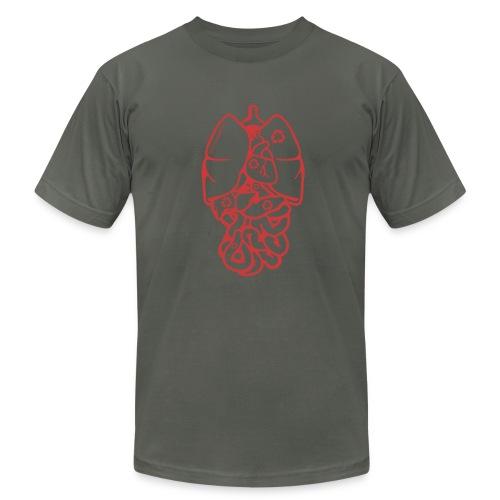 Recyclable Body Parts - Men's Fine Jersey T-Shirt