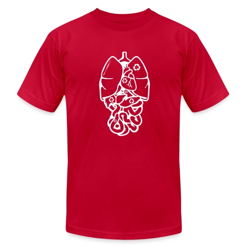 Recyclable Body Parts - Men's  Jersey T-Shirt