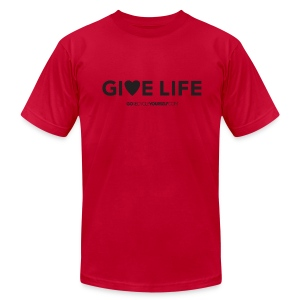 Give Life - Men's T-Shirt by American Apparel