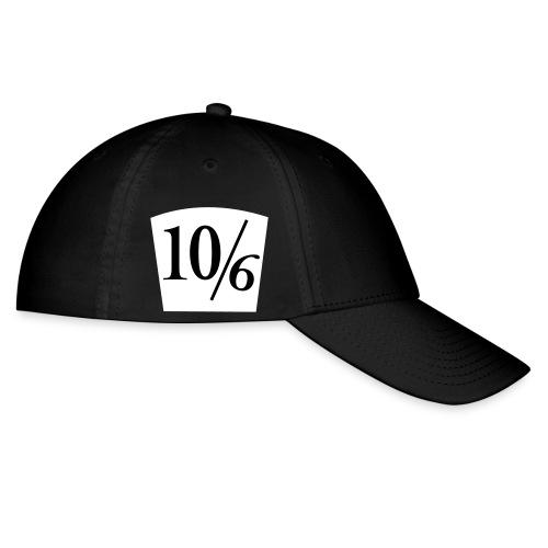 10/6 Baseball Cap - Baseball Cap