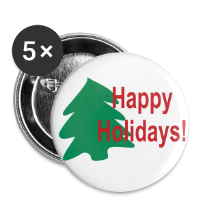 Happy Holidays! - Large Buttons
