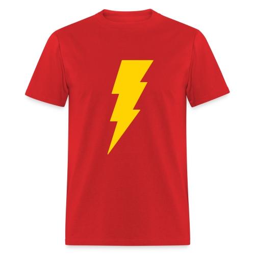 SHAZAM T-Shirt Sheldon Big Bang Theory Costume - Men's T-Shirt
