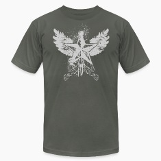 Asphalt nautical wings designer graphic T-Shirts