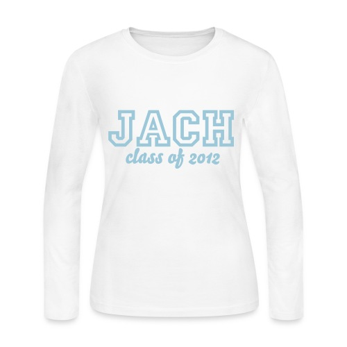 JACH Class of 2012 - Women's Long Sleeve Jersey T-Shirt