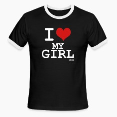 i love my girl by wam T-shirts (manches courtes)