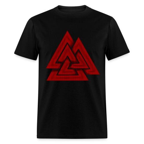 3-D Valknut T Shirt - Men's T-Shirt
