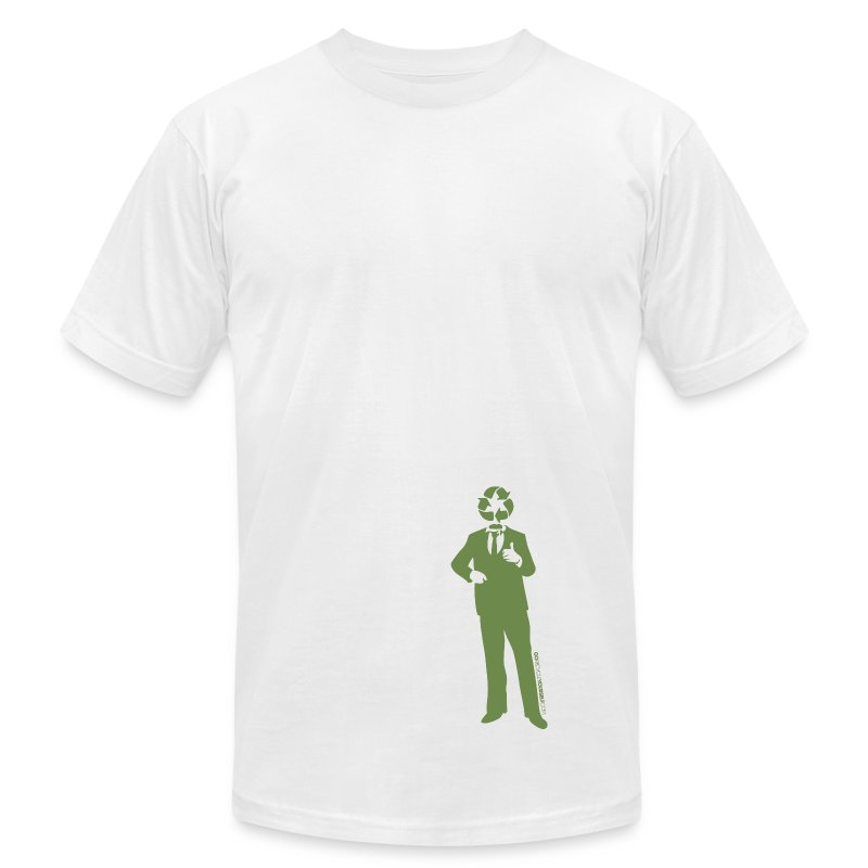 Recycle Man - Men's Fine Jersey T-Shirt