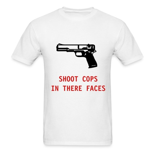 Shoot Cops - Men's T-Shirt