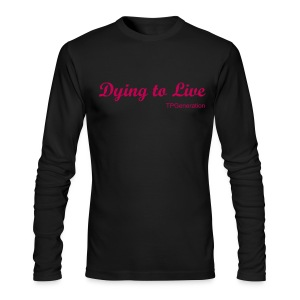 Mens long sleve crew Tee - Men's Long Sleeve T-Shirt by Next Level