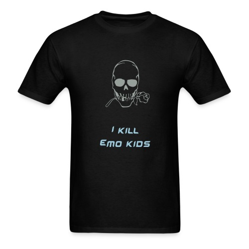I Kill emo - Men's T-Shirt