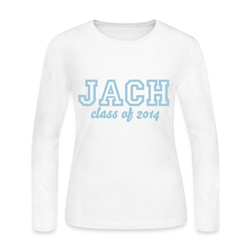 JACH Class of 2014 - Women's Long Sleeve Jersey T-Shirt