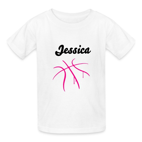 Personalized Basketball Shirt - Kids' T-Shirt