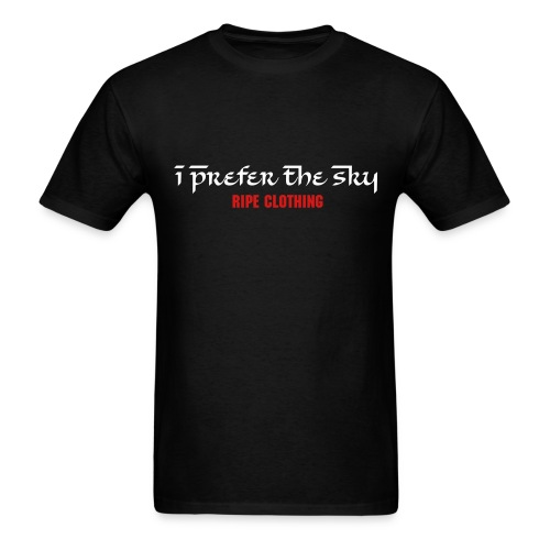 I Prefer The Sky Tee - Men's T-Shirt