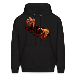 Zombie Hoodie Gory Halloween Scary Zombie Gifts - Men's Hoodie