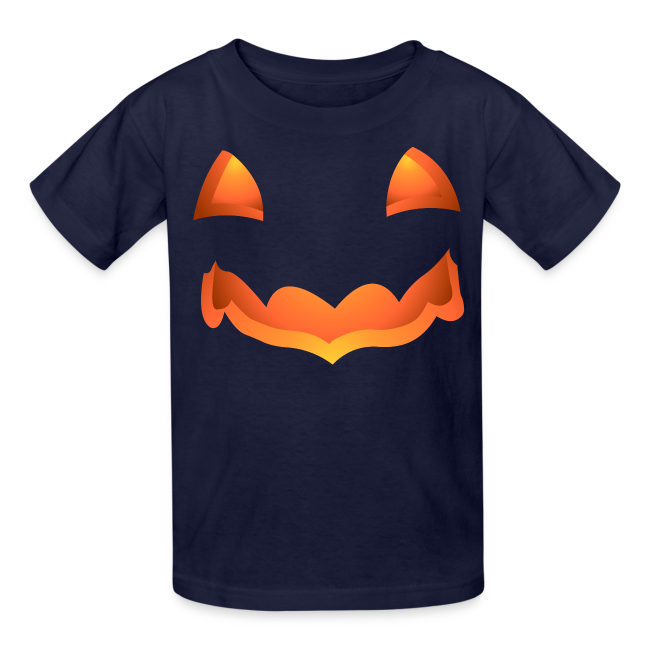 Kid's Halloween T-Shirt Pumpkin Kid's Shirts