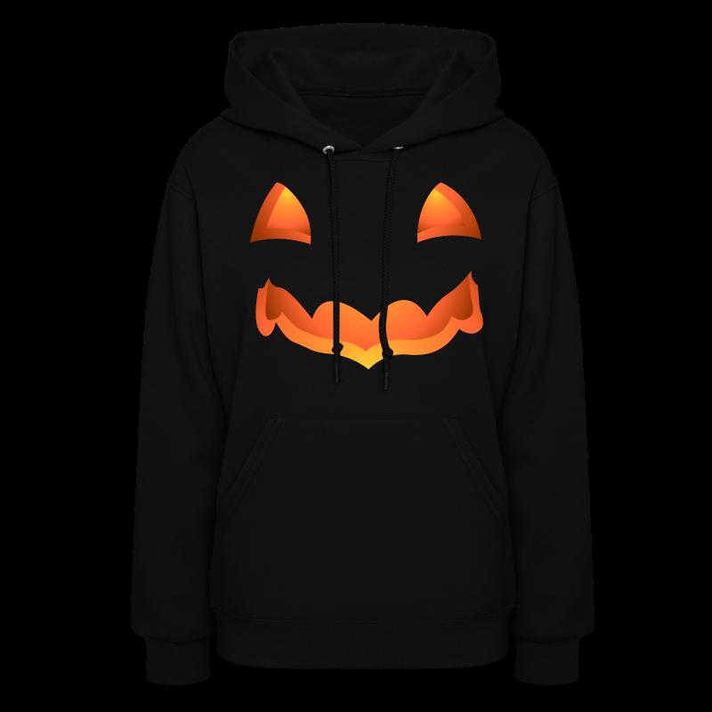 Halloween Hoodie Jack-o-lantern Ladies Shirts - Women's Hoodie