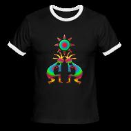T-Shirts ~ Men's Ringer T-Shirt ~ Two Kokopelli #1
