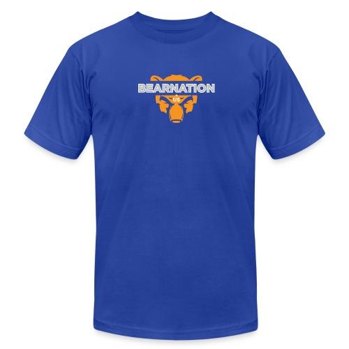 BEARNATION.us Logo Basic T-shirt - Men's Fine Jersey T-Shirt