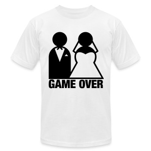 Game Over - Men's Fine Jersey T-Shirt