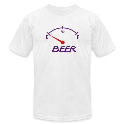 Beer Meter - Men's Fine Jersey T-Shirt