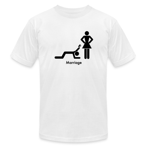 Marriage - Men's  Jersey T-Shirt