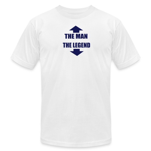 The Man The Legend - Men's Fine Jersey T-Shirt
