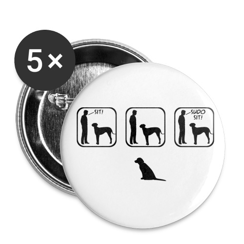 Sudo Sit - 5 Large Buttons - Large Buttons