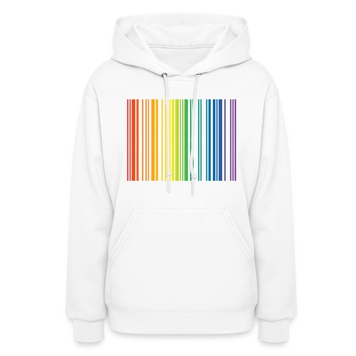 Rainbow Code Women's Hoodie - Women's Hoodie