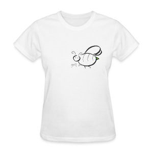 Kids Rainbow Bee Shirt - Women's T-Shirt