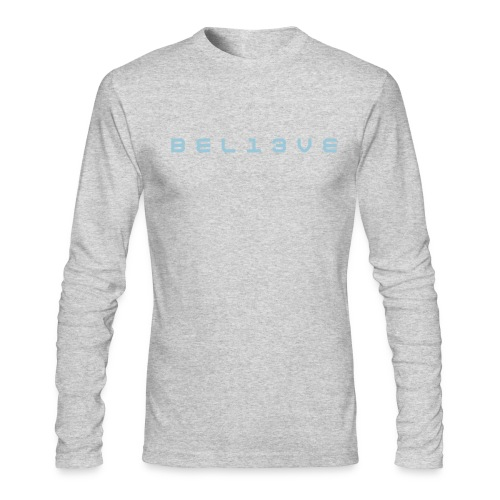 BEL13VE - Men's Long Sleeve T-Shirt by Next Level