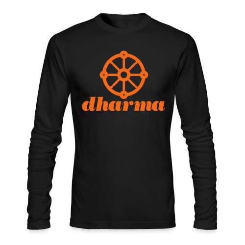Tribe Dharma tee (LS) - Men's Long Sleeve T-Shirt by Next Level