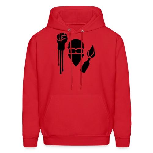 Anarchist Salute Hoodie - Men's Hoodie