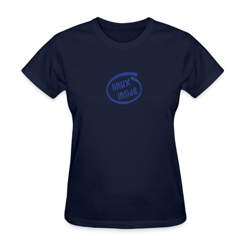 Linux Inside (on Choice) - Women's T-Shirt